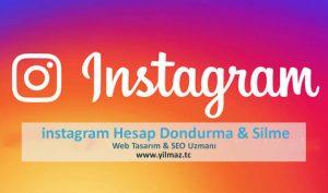 instagram Hesap Dondurma Linki 2019, Kapatma, Silme linki kalıcı