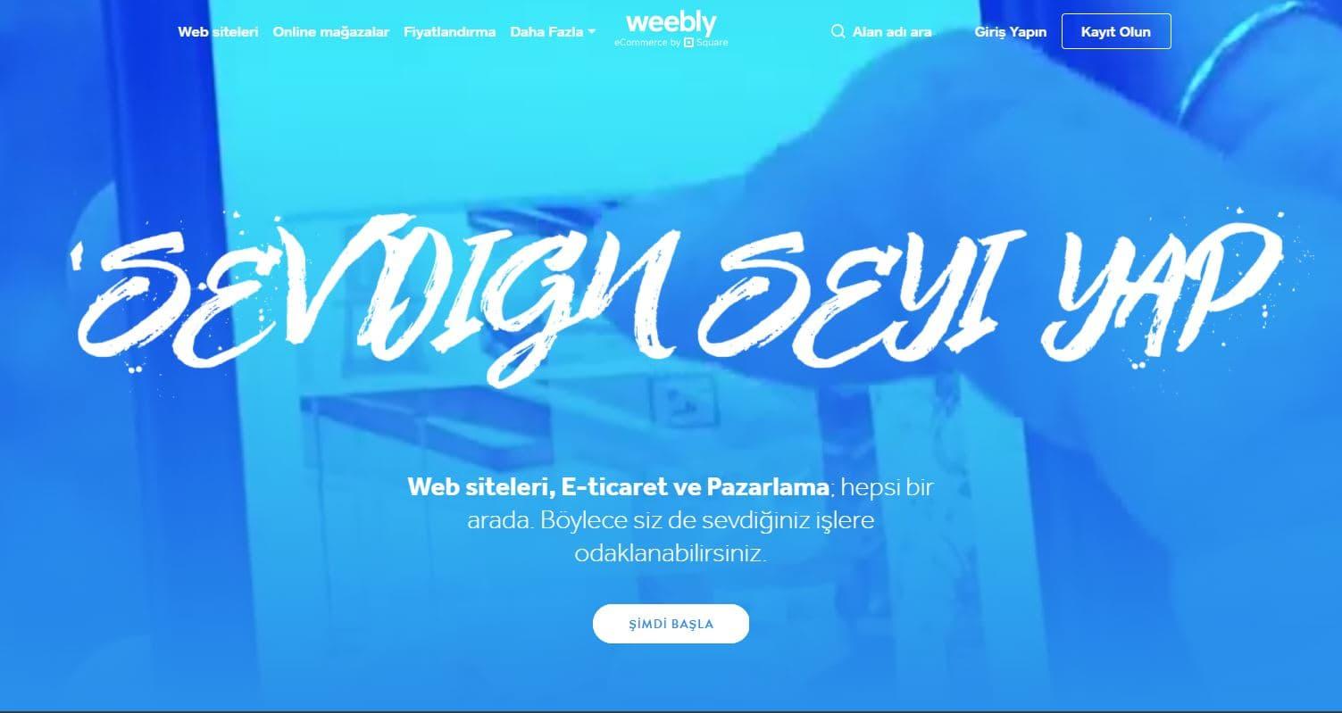 Weebly Blog Açmak Ücretsiz