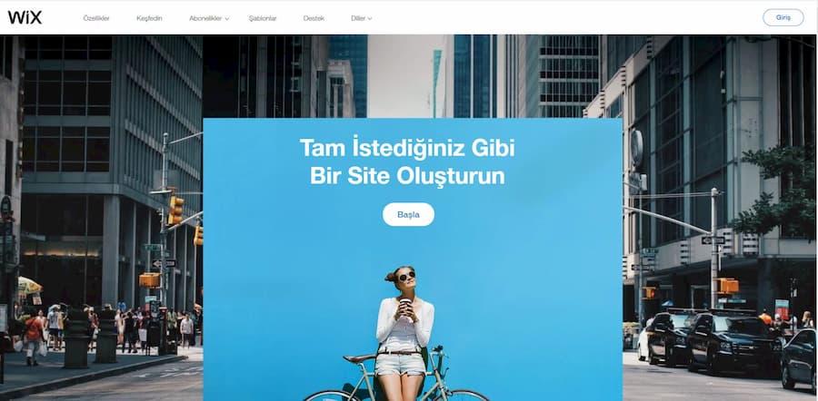 wix blog açmak ücretsiz